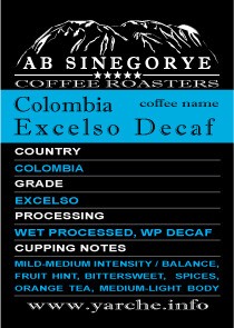 Colombia Exelco Decaf